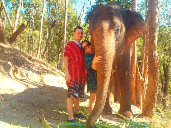 Patara Elephant Farm - Private Tours : Making new friends