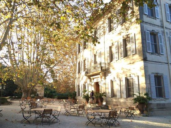 Le Chateau des Alpilles: Chateau & grounds