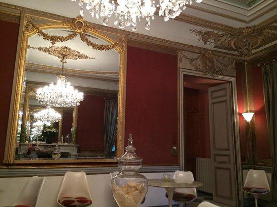 Le Chateau des Alpilles: Dining Room