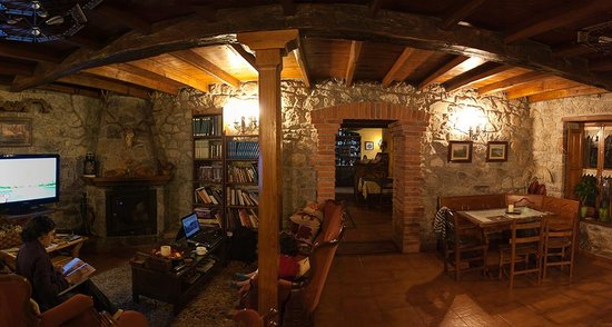 Hotel Rural Casa Cueto: Salita comun
