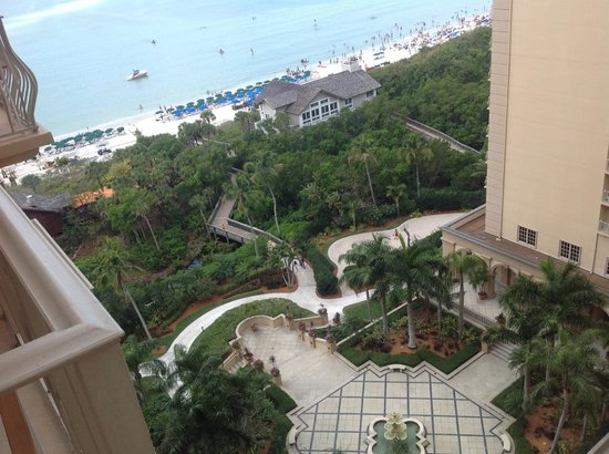 The Ritz-Carlton, Naples: The view form our balcony