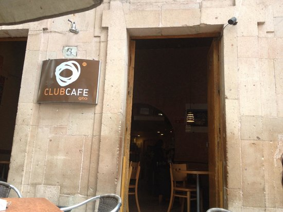 CLUB CAFE Guanajuato: The front