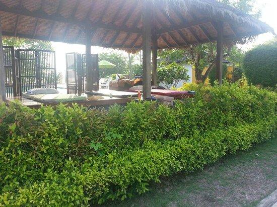 GLOW Elixir Koh Yao Yai: Massage area by the pool