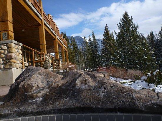 Hidden Ridge Resort: view from pool