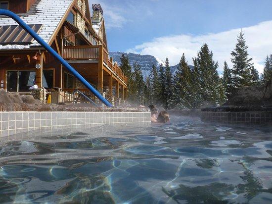 Hidden Ridge Resort : one view from pool