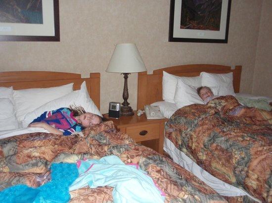 Hidden Ridge Resort: beds in loft