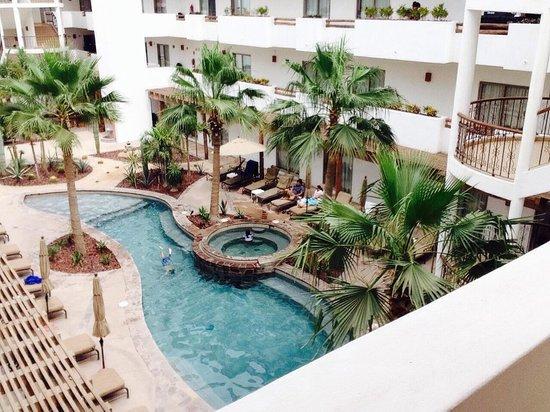 Hotel Santa Fe: Vista de nuestro cuarto