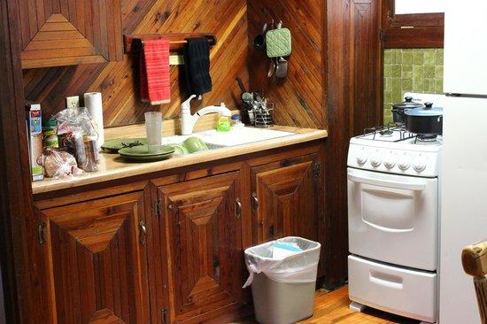 Union Creek Resort: Kitchen