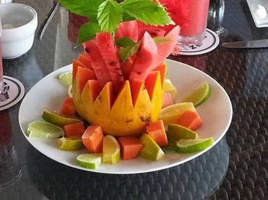 Mayan Islands Resort : Fruit Plate