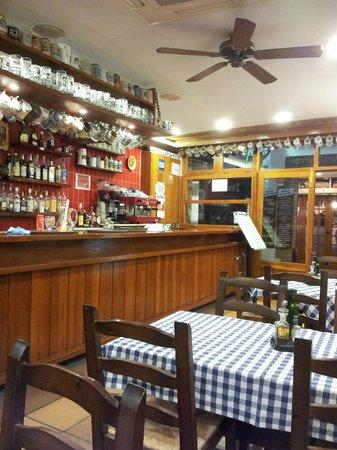 Restaurant Pizzeria Bar Lluis : BARRA