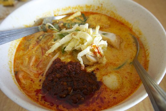 Donald and Lily's : laksa