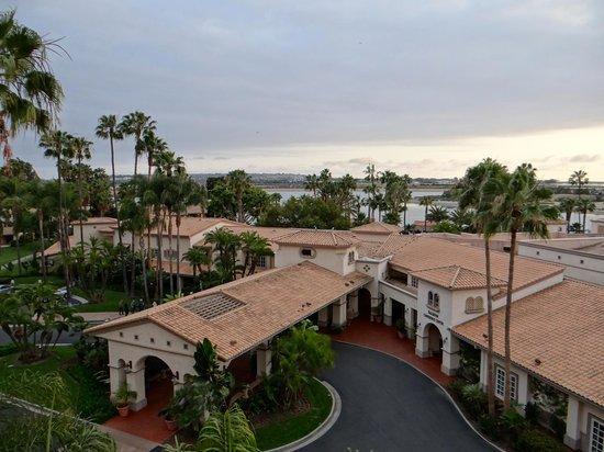 Hilton San Diego Resort & Spa: Vue de la chambre