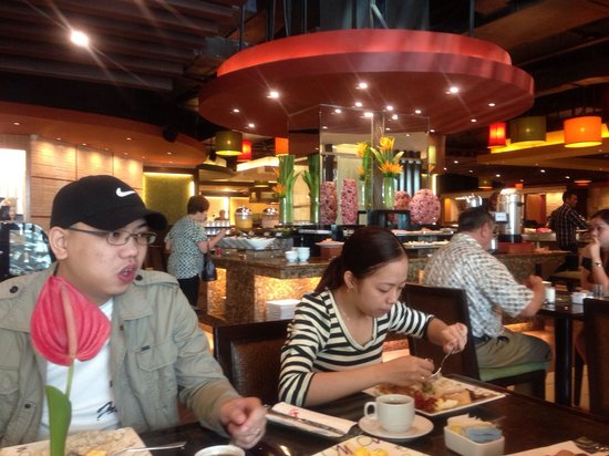 Waterfront Cebu City Hotel & Casino: delicious food(dec'12)