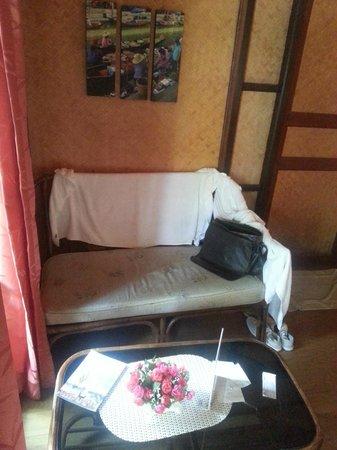 Tropical Garden Lounge Hotel: zithoek voor 2 personen