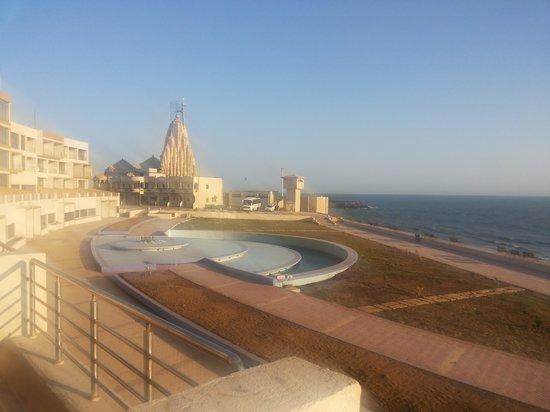 Sagar Darshan - Somnath Trust: view from Balcony
