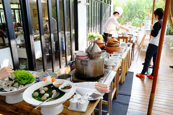 Hua Chang Heritage Hotel : breakfast time!