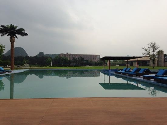 Club Med Guilin: View from the terace