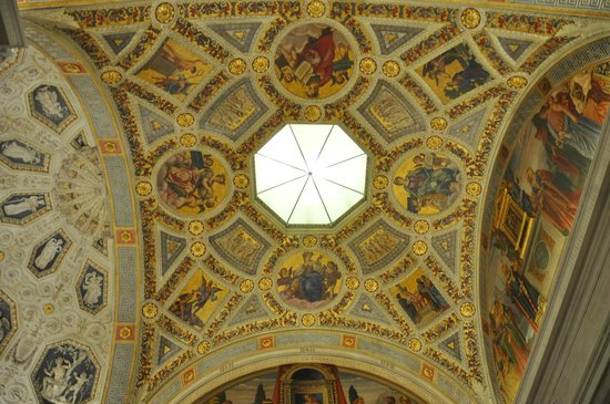 The Morgan Library & Museum : Ceiling