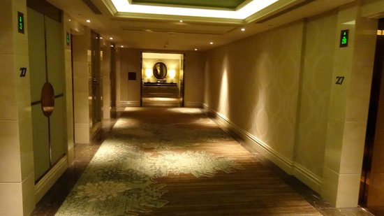 Sheraton Grand Macao Hotel, Cotai Central : Guest Floor Corridor