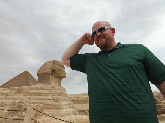 Resting on the Sphinx