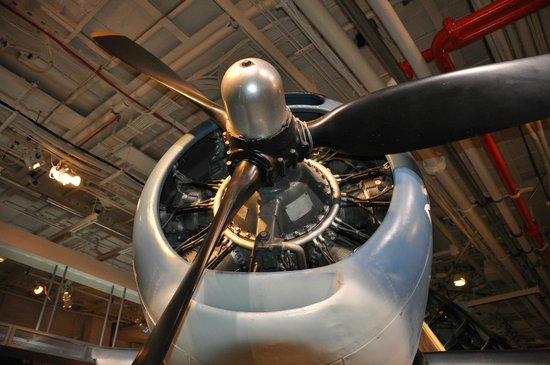 Intrepid Sea, Air & Space Museum: Propellor of an A-6 Avenger