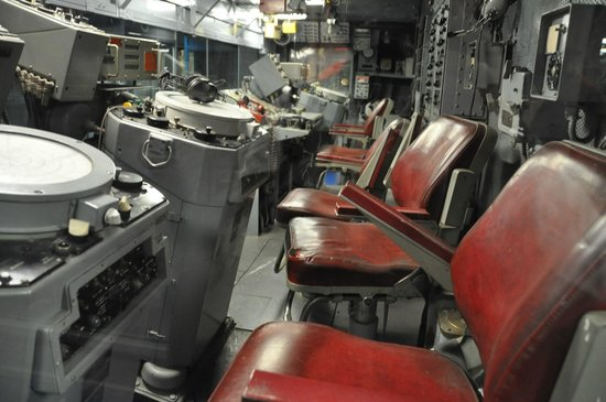 Intrepid Sea, Air & Space Museum : Intrepid CIC