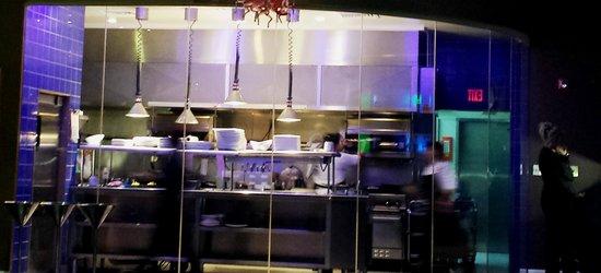 Windows on Aruba Restaurant : Open Kitchen @ Windows on Aruba