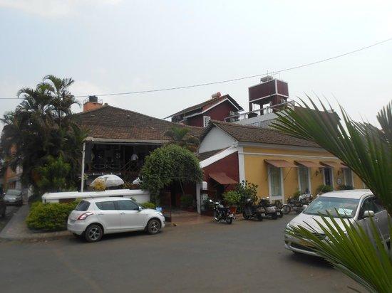 WelcomHeritage Panjim Inn: Entrance Panjim Inn