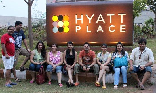 Hyatt Place Hampi: Entrance