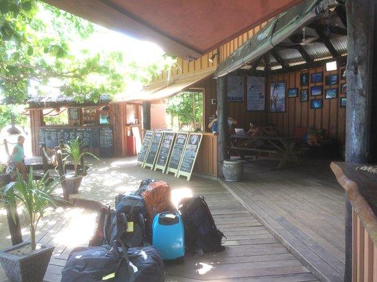 Mantaray Island Resort: Main area