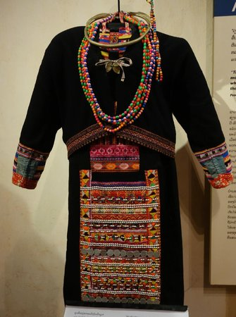 Traditional Arts and Ethnology Centre: Luma women's clothing, I believe