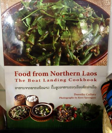 Traditional Arts and Ethnology Centre : Cookbook for sale in the gift shop