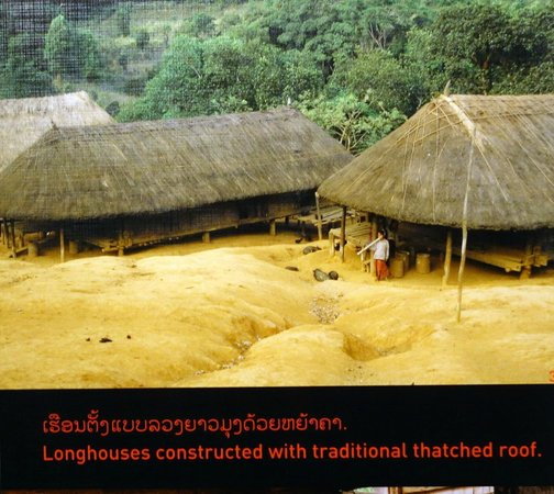 Traditional Arts and Ethnology Centre : traditional longhouses