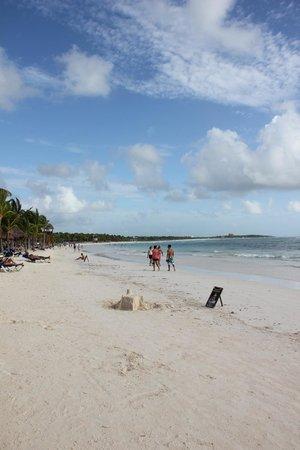 Grand Palladium White Sand Resort & Spa : пляж