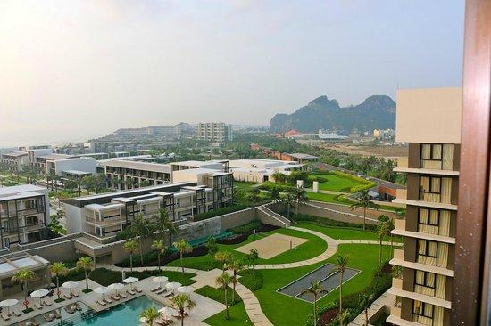 Hyatt Regency Danang Resort & Spa: view from our apartment