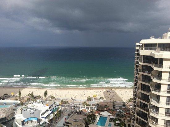 Hotel Grand Chancellor Surfers Paradise: сумасшедший вид