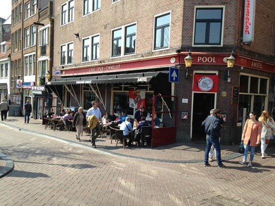 Cafe emmelot amsterdam de wallen quartiere a luci for Hotel vicino piazza dam amsterdam