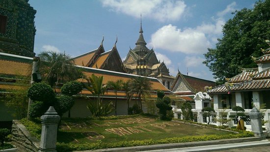 Temple du Bouddha Couché (Wat Pho) : На территории храма.