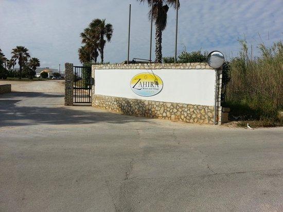 Zahira Resort & Village : entrata