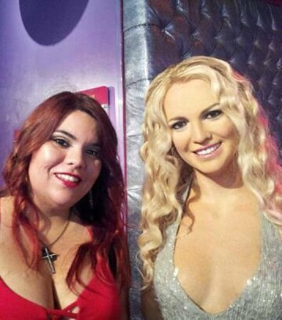 Madame Tussauds Hollywood : Brittany and Britney!!