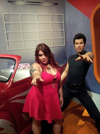 Madame Tussauds Hollywood : grease