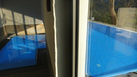 Schloss Mittersill: das beheizte Schwimmbad