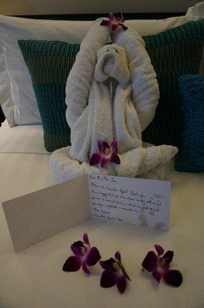 Anantara Bophut Koh Samui Resort : welcome note