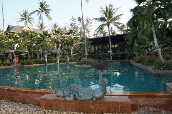 Anantara Bophut Koh Samui Resort : infinity pool