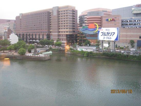 Candeo Hotels The Hakata Terrace : 部屋からの眺め