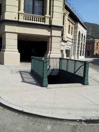 Warner Bros. Studio Tour Hollywood : Set, fake subway