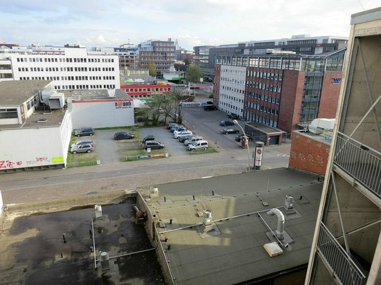 Superbude Hotel Hostel St.Georg: Blick vom Zimmer