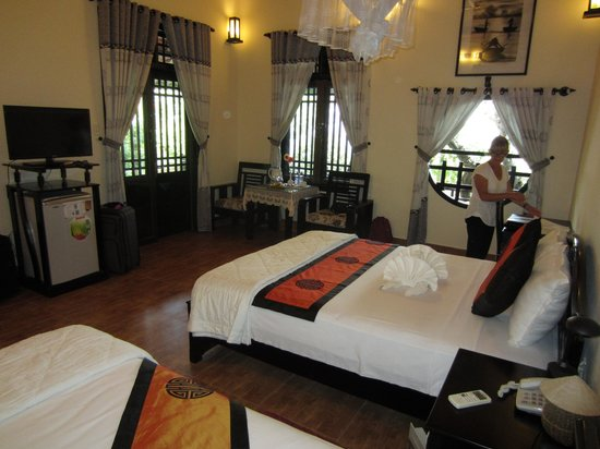 Betel Garden Villas: Our lovely room