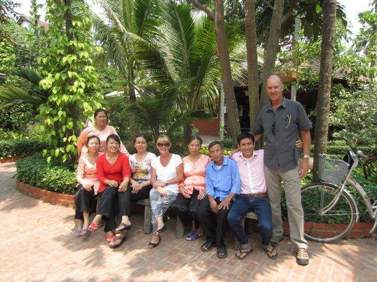 Betel Garden Villas: Saying goodbye to the team