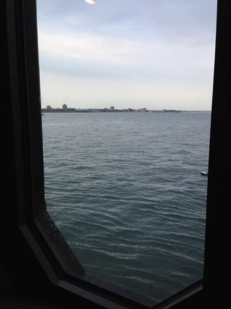 Spitbank Fort: a room with a view